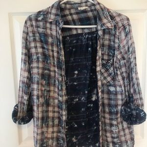 Tops - Tribal jeans flannel